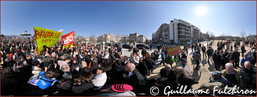 Meeting François Hollande Valence, 13 mars 2012 - pr�sidentielles